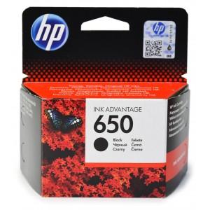 Oryginalny tusz HP 650 czarny CZ101AE