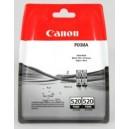 Canon oryginalny Tusz PGI520 Czarny Dwupak 2932B012