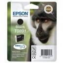 Epson oryginalny Tusz T0891 Black do Stylus S20/SXx05/