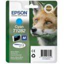 Epson oryginalny Tusz T1282 Cyan do SX125/SX130/SX425W/SX430