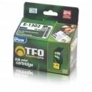 Tusz zamiennik TFO Epson E-1302 (T1302, Cy) cyjan 18ml
