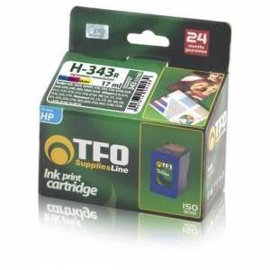 Tusz zamiennik TFO HP H-343R (C8766E) kolor 17ml
