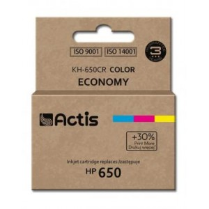 Tusz zamiennik Actis KH-650CR (HP 650 CZ102AE) standard 9ml kolorowy
