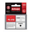Tusz zamiennik Activejet AC-510R (Canon PG-510) premium XL 12ml czarny