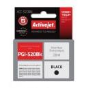 Tusz zamiennik Activejet ACC-520BN (Canon PGI-520BK) supreme 20ml czarny Chip
