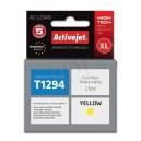 Tusz zamiennik Activejet AE-1294N (Epson T1294) supreme XL 15ml yellow