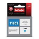 Tusz zamiennik Activejet AE-1802N (Epson T1802) supreme 13ml cyan