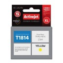 Tusz zamiennik Activejet AE-1814N (Epson T1814) supreme XL 15ml yellow