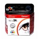 TB Print Tusz TBC-L024C (Canon BCI24C) Colour 100% nowy