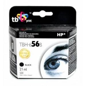 TB Print Tusz TBH-656B (HP Nr 56 - C6656A) Czarny refabrykowany