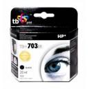 TB Print Tusz zamiennik do HP DJ D730/F735 Czarny refabrykowany TBH-703BR (HP nr 703 CD887AE)