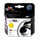 TB Print Tusz zamiennik do HP DJ D730/F735 Kolor refabrykowany TBH-703CR (HP nr 703 CD888AE)