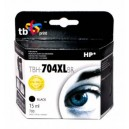 TB Print Tusz zamiennik do HP DJ IA 2060 Czarny refabrykowany XL TBH-704XLBR (HP nr 704 CN692AE)