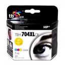 TB Print Tusz zamiennik do HP DJ IA 2060 Kolor refabrykowany XL TBH-704XLCR (HP nr 704 CN693AE)